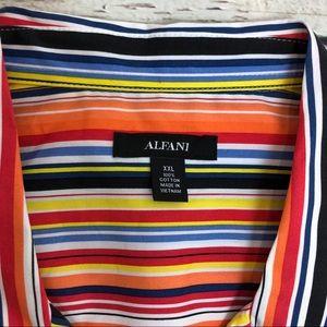 Alfani Shirts - Alfani sugar striped button down shirt NWT Sz L
